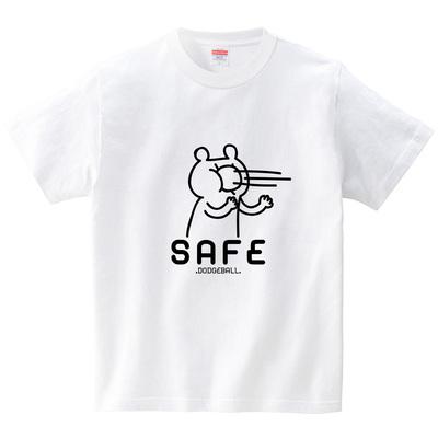 顔面セーフ(Tシャツ・ホワイト)(オワリ)